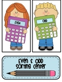 Even & Odd Sorting Center with Even Steven & Odd Todd