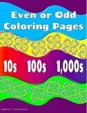 Even Or Odd Coloring Pages