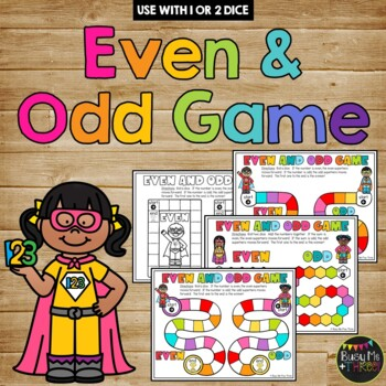 Even Steven and Odd Todd Dice Game