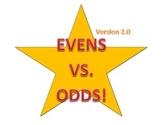 Even Vs. Odd Number Game! Version 2.0!