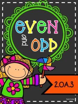 Even and Odd: 2.OA.3