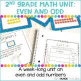 Even and Odd | A 2nd Grade Math Unit