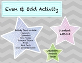 Even and Odd Activity
