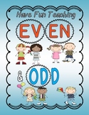 Even and Odd An Engaging and Fun Math Unit (Even and Odd Activities & Games)
