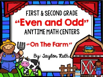 Even and Odd Anytime Math Centers for First and Second Gra
