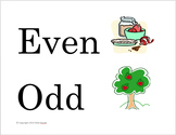 Even and Odd Apple Sort
