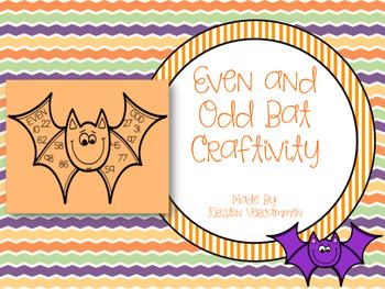 Even and Odd Bat Craftivity