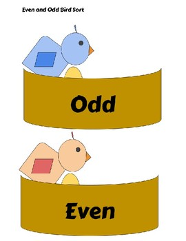 Even and Odd Bird Sort
