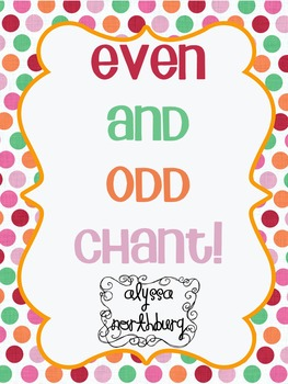 Even and Odd Chant