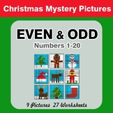 Even and Odd - Color By Number - Christmas Mystery Pictures