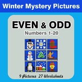 Even and Odd - Color By Number - Winter Mystery Pictures