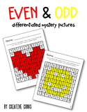 Even and Odd Differentiated Mystery Pictures