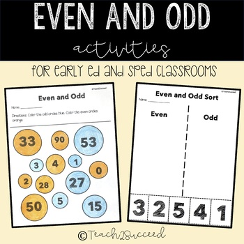 Even and Odd Differentiated Pack