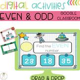 Even and Odd Center Digital Activities