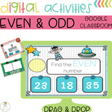 Even and Odd Center Digital Activities DISTANCE LEARNING