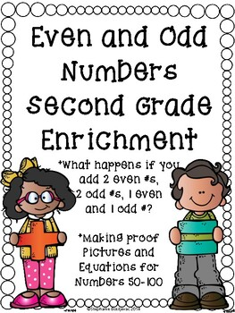 Even and Odd Enrichment (2nd Grade)