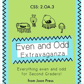Even and Odd Extravaganza for Second Graders- Bilingual!
