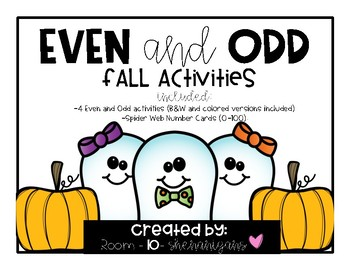 Even and Odd Fall Activities