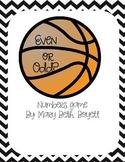 Even and Odd Game Basketball
