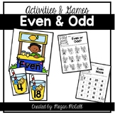 Even and Odd: Games and Activities (Numbers to 20)