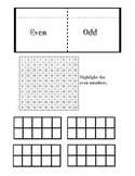 Even and Odd- GoMath 2nd Grade Aligned