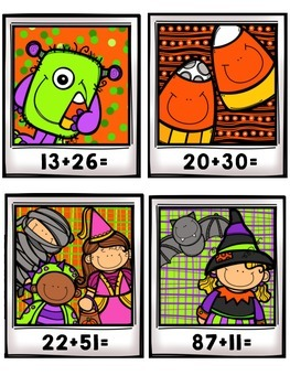 Even and Odd Halloween Math Centers