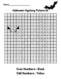 Even and Odd Halloween Mystery Picture #2