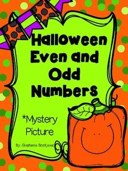 Even and Odd (Halloween or Thanksgiving Mystery Picture)