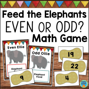 Even and Odd Numbers Game 2nd Grade