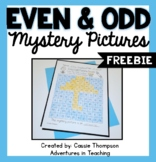 Even and Odd Mystery Pictures FREEBIE