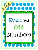 Even and Odd Number Assessment
