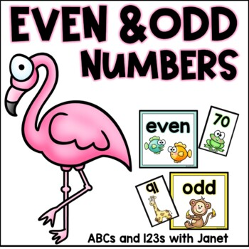 Even and Odd Number Sort {animal edition}