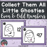 Even and Odd Numbers 0 to 100 Little Ghosties