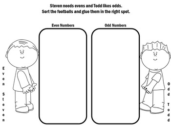 Even and Odd Worksheets |  Even and Odd Activities | Odd and Even Worksheets