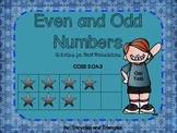 Even and Odd Numbers- Activities for Math Workstations (al