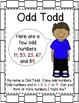 Even and Odd Numbers - Buddy Posters and Chant