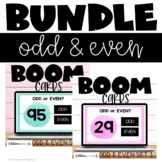 Even and Odd Numbers Bundle Boom Cards