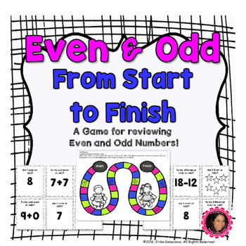 Even and Odd Numbers- Board Game