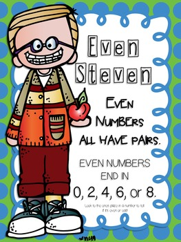 Even and Odd Numbers Math Unit