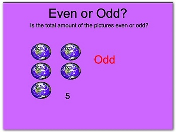 Even and Odd Numbers PPT PowerPoint