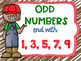 Even and Odd Numbers Poster Anchor Chart FREEBIE Farm Theme