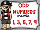 Even and Odd Numbers Poster Anchor Chart FREEBIE Pirate Theme