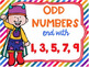 Even and Odd Numbers Poster Anchor Chart FREEBIE Superhero Theme