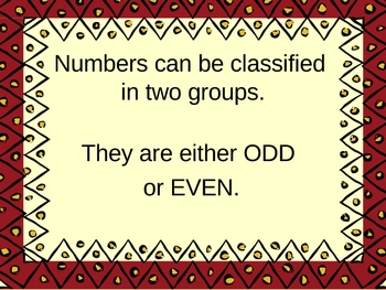 Even and Odd Numbers Power Points Presentation