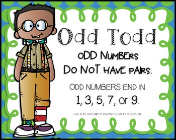 Even and Odd Numbers Smartboard Lesson