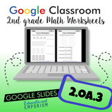 Even and Odd Numbers Worksheets for Google Classroom™ ⭐ 2.OA.3