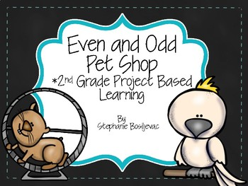 Even and Odd Pet Shop Project Based Learning