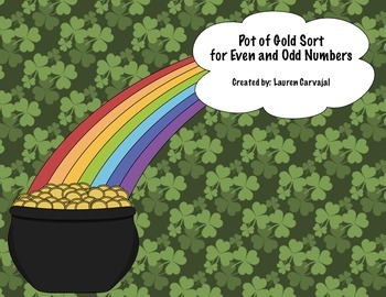 Even and Odd Pot of Gold Sort