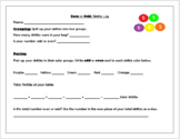 Even and Odd Review Skittle Game