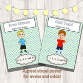 Even and Odd Rhyme Printable Poster